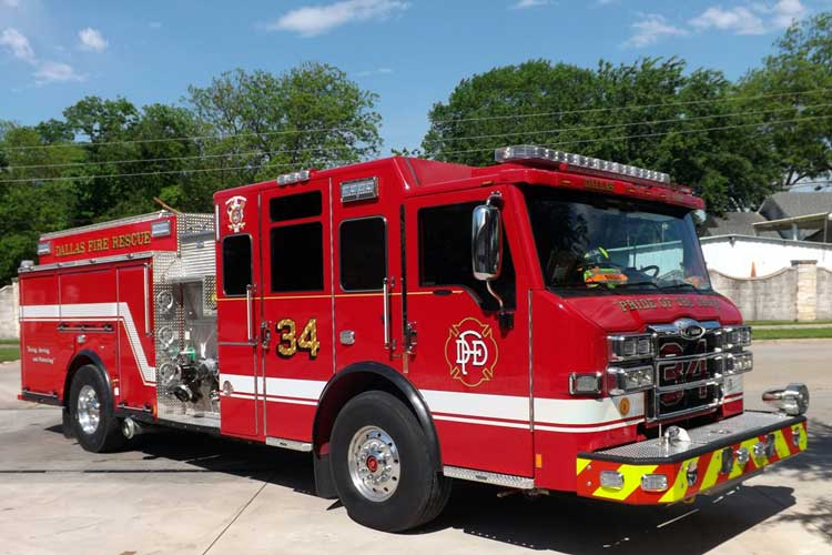 2019 Pierce Velocity Pumper for Dallas (TX) Fire-Rescue | The Rig