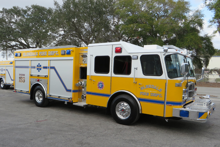 Glendale (AZ) E-ONE 1,500/500 eMAX Pumper