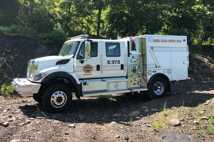 Santa Clara County (CA) Fire Department Type 3 WUI Rig