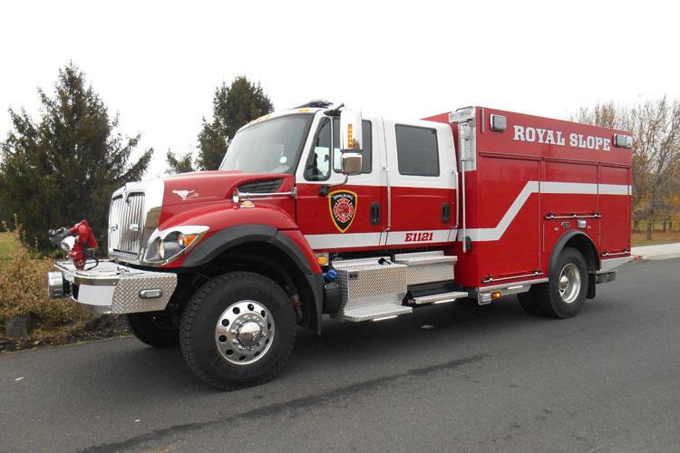 Grant County (WA) Fire Department Ridgerunner WUI Pumper