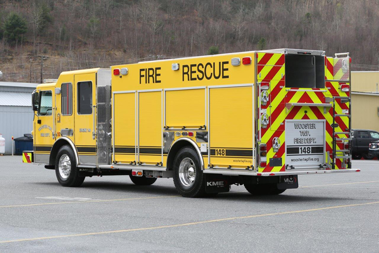 Wooster Township (OH) Fire Department KME PRO Rescue-Pumper