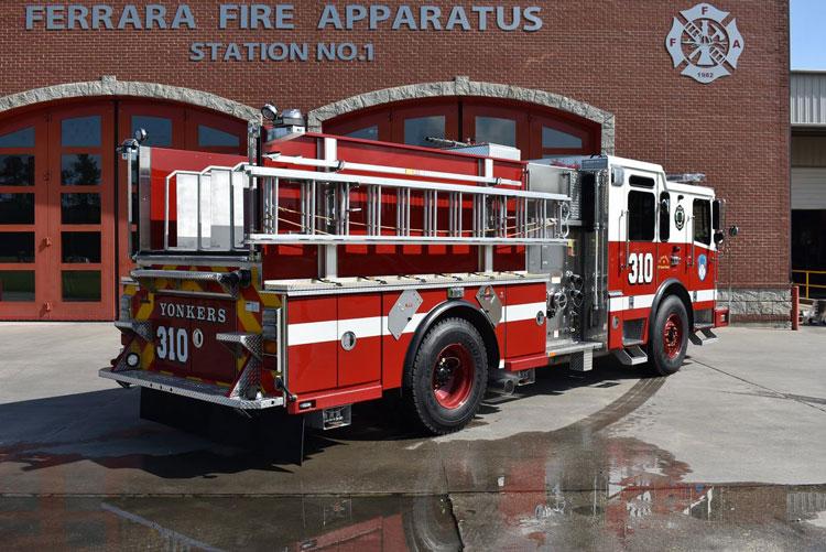 Yonkers (NY) Custom Ferrara Pumper OS