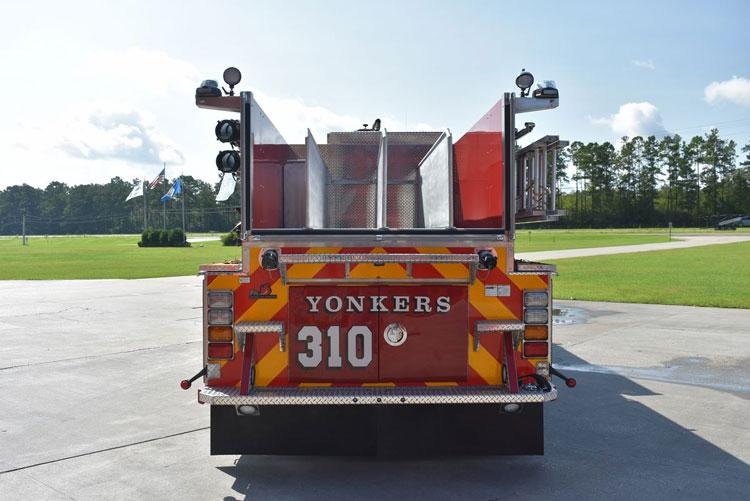 Yonkers (NY) Ferrara Pumper Rear/Hosebed